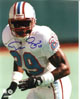 Darryll Lewis signed Houston Oilers 8x10 Photo