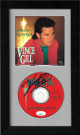 Vince Gill signed Let There Be Peace On Earth Album CD with Cover 6.5x12 Custom Framing- JSA Hologram #GG36324