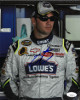 Jimmie Johnson signed NASCAR 8x10 Photo- JSA Hologram #CC08754 (blue sig)