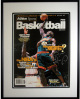 Shawn Kemp signed Seattle Supersonics 1996-97 Athlon Cover Custom Metal Framing LTD- Upper Deck Hologram