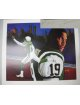 Keyshawn Johnson signed New York Jets Lithograph