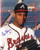 Pedro Borbon, Jr. signed Atlanta Braves 8x10 Photo